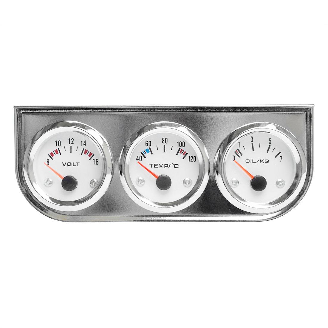 DRAGON GAUGE Đồng hồ dụng cụ cảm biến xe vôn kế 12V