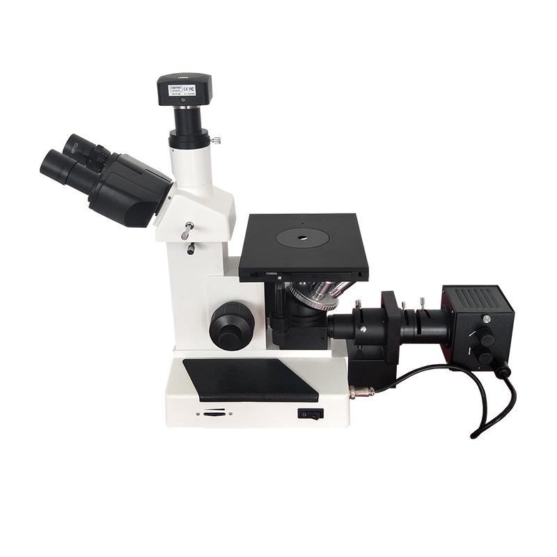 Kính hiển vi kim loại đảo ngược 4XC kính quang học .