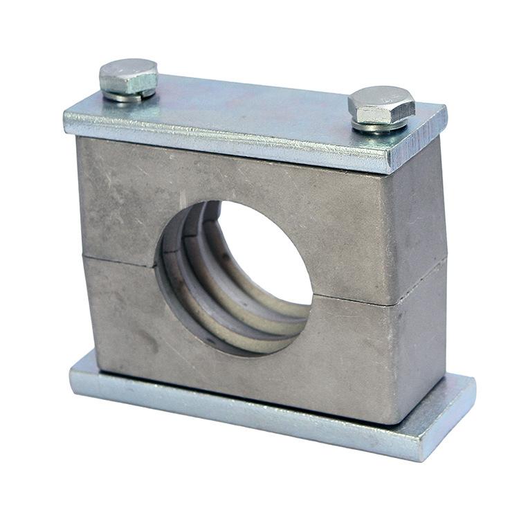 RUIJIA Ống kẹp Nhà sản xuất bán buôn kẹp hợp kim nhôm nặng kẹp thẻ ống nhôm nhẹ Tây Đức tiêu chuẩn D