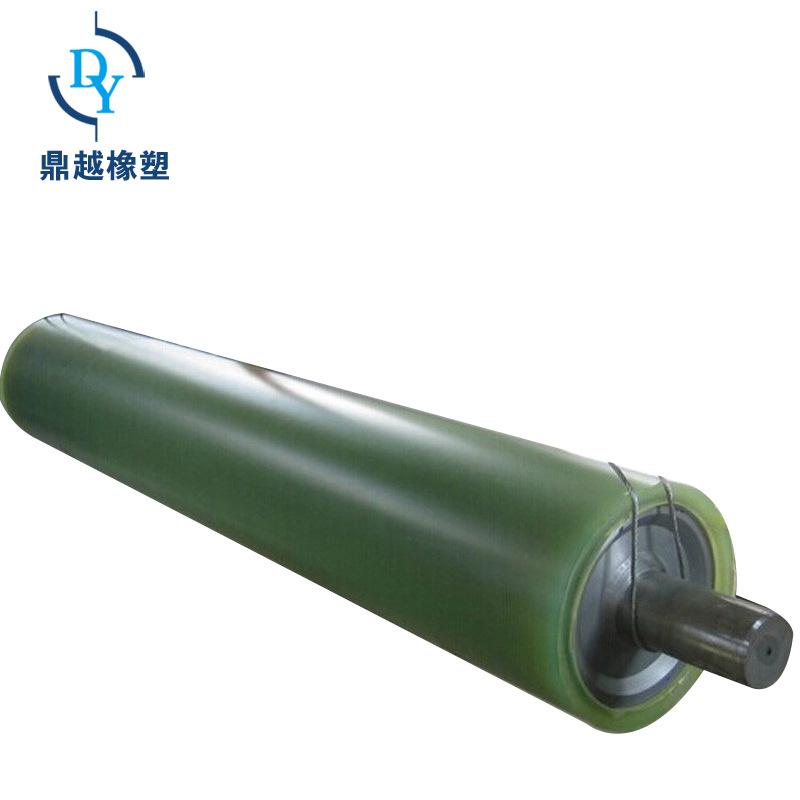 DINGYUE Con lăn vận chuyển / Con lăn băng tải Các nhà sản xuất cung cấp pallet polyurethane Con lăn