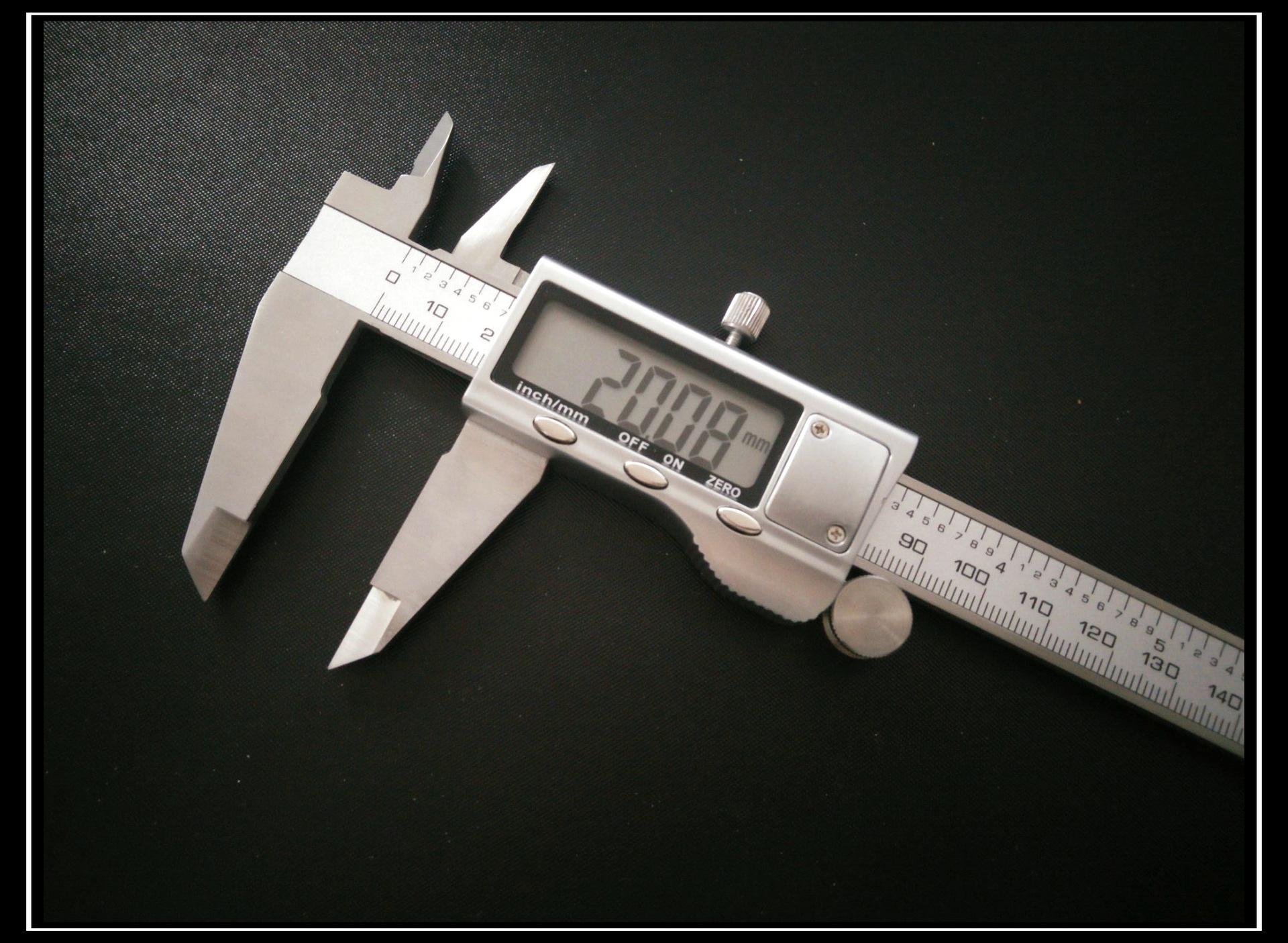 SHIHAO Dụng cụ đo lường Thước đo điện tử 0-200mm