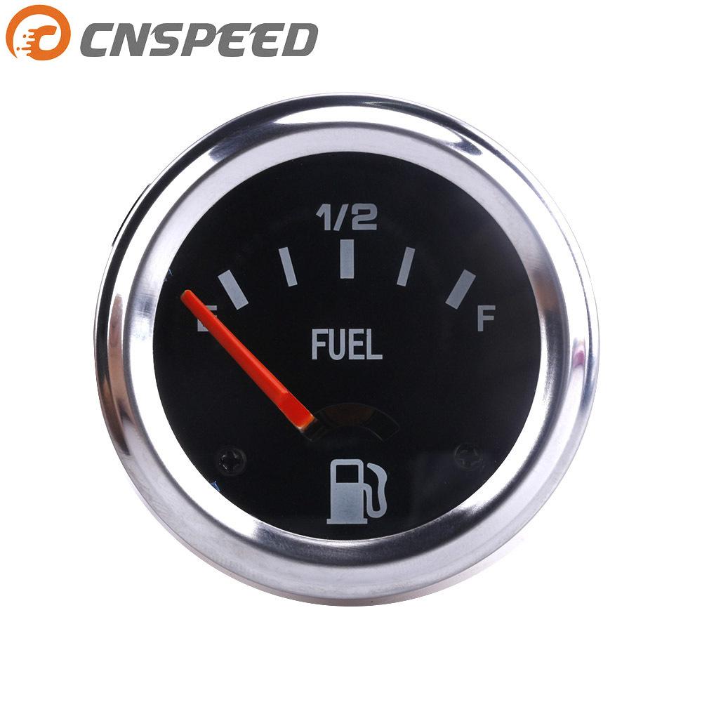 CNSPEED Đồng hồ đo nhiên liệu xe 52mm - 12V