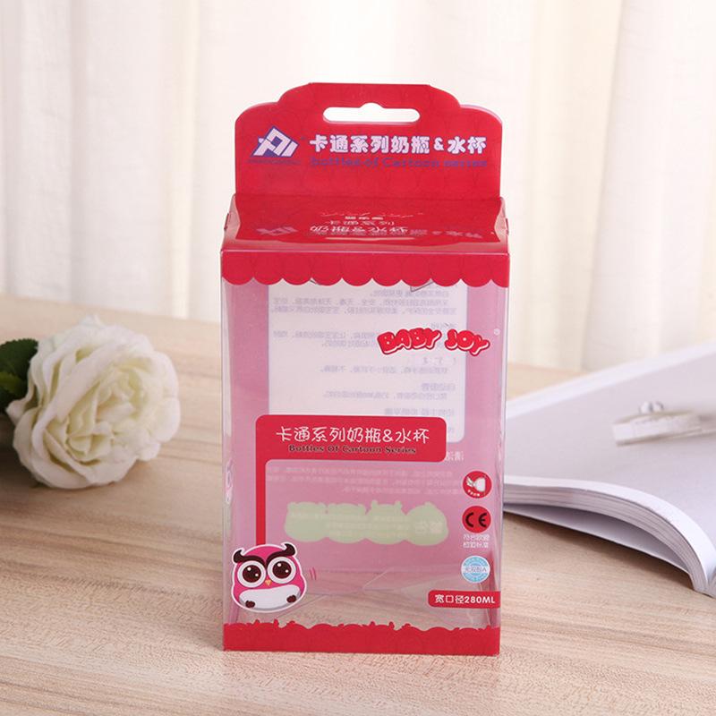 FUCHUAN Đồ dùng gia dụng Nhà máy trực tiếp PVC phổ quát bảo vệ môi trường hộp quà tặng trong suốt nh