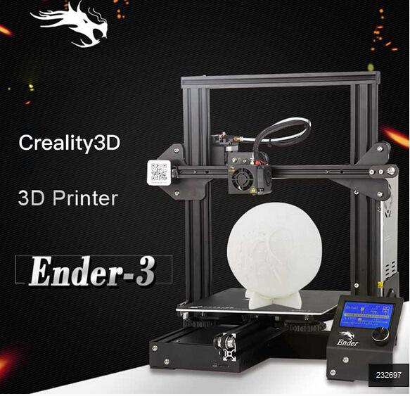 Máy in 3D Ender-3 DIY kit V-slot kích thước lớn .