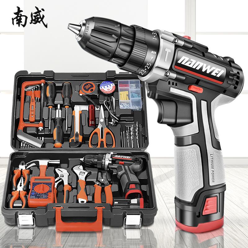 Nanwei Bộ công cụ sửa chữa máy  khoan cho gia đình .