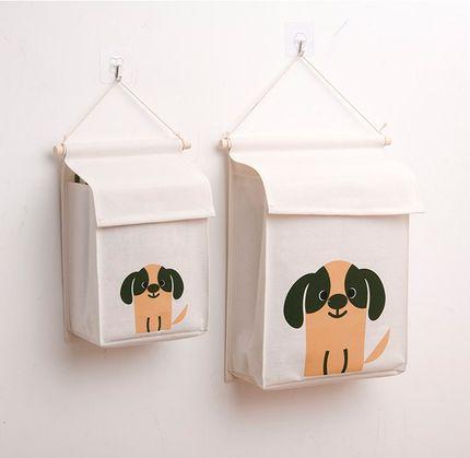 Dichang Túi đựng quần lót Túi lưu trữ treo túi Đầu giường vớ đồ lót đồ lót treo tường Túi lưu trữ tr