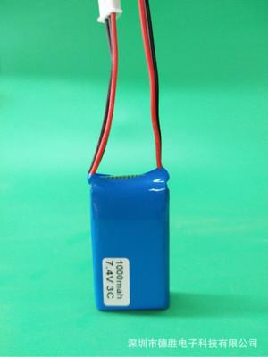 Pin Lithium 7.4V 1000mah cho Bộ điều khiển từ xa xe mô hình Fusi FS-GT5 MC6C, MCE7