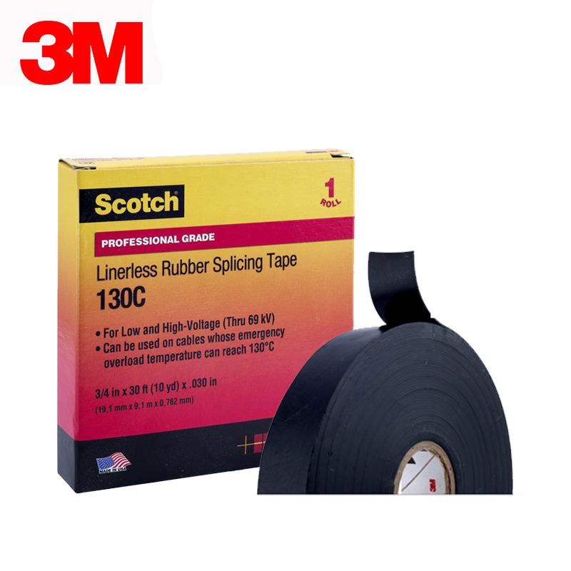 3M Khoá dán Băng keo tự dính cách nhiệt 3M130C Cao su Ethylene-propylene bằng băng keo điện Băng các