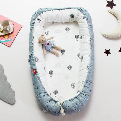 Nệm Nôi dành cho trẻ sơ sinh có thể tháo rời và có thể giặt được