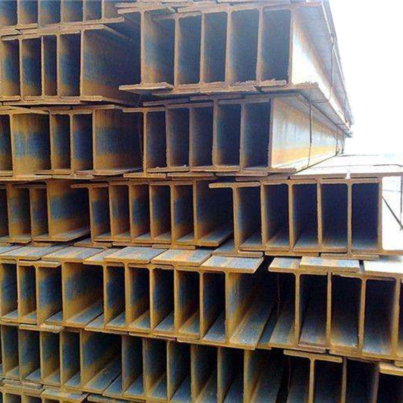 LAIGANG Thị trường sắt thép Cung cấp lớn thép dầm thép dầm chữ I Q235 Thép dầm chữ H mạ kẽm cán nóng