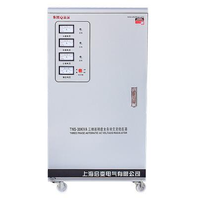 Bộ điều chỉnh điện áp ba pha Qibian 380V tự động .