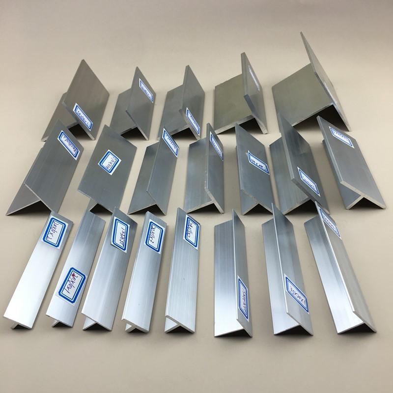 KAIQIANG Vật liệu kim loại Trần keel hạt đường sắt t-hợp kim nhôm hồ sơ 50 * 20 * 3 mm cạnh kín miện