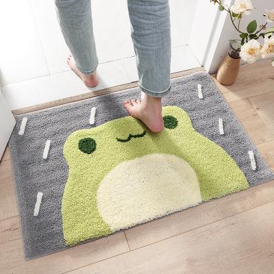 DEXI Đệm chân Phim hoạt hình mới cao và thấp tóc nhà đổ thảm Phòng tắm nước thấm thảm chống trượt và