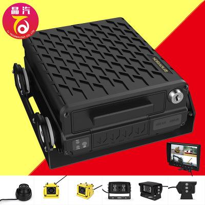 Hệ thống tích hợp AHD xe ghi video xe tải giám sát an ninh xe buýt đĩa cứng ghi video hệ thống giám