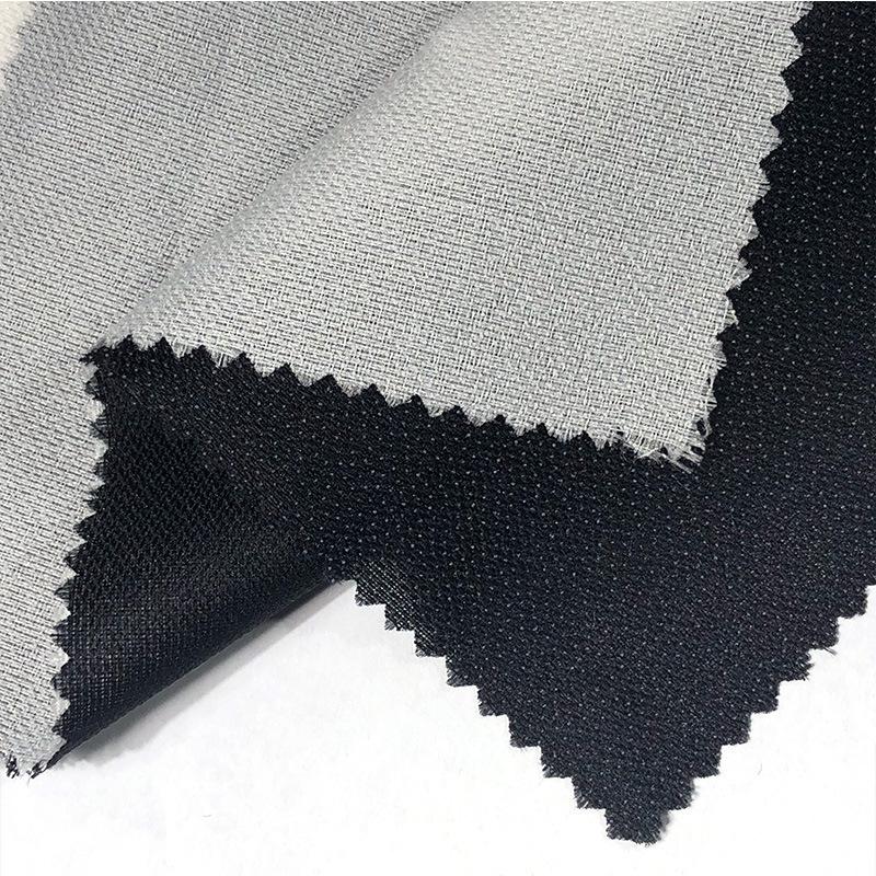 HENGBOXIN Vải lót Phụ kiện may mặc 55g lót nhẹ dệt trung bình lót polyester ngoại quan dệt kim sợi d