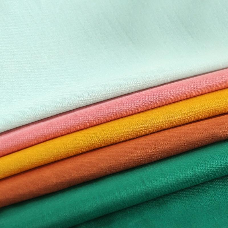 LIANGLIANG Vải Linen 101 # 50 * 54 áo sơ mi vải lanh nguyên chất quần áo vải lanh vải lanh và vải la