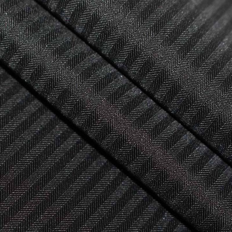 BAOSHENG Vải cotton pha polyester Các nhà sản xuất bán polyester bông TC tẩy trắng nhuộm xương cá mẫ