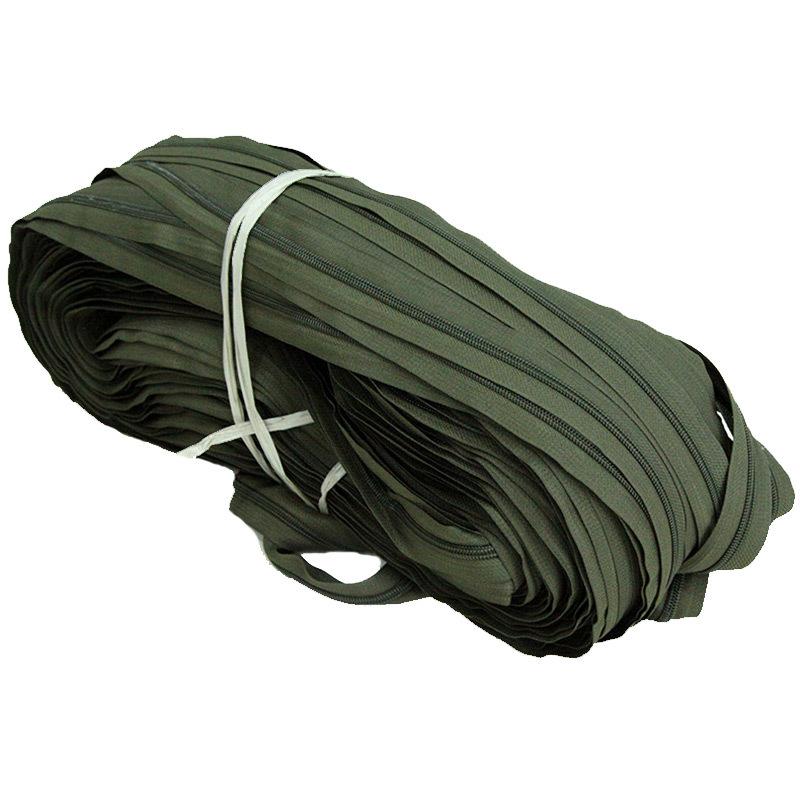 HUANQIU Thị trường phụ kiện bKD dây kéo nylon liên ngành 5 số dây kéo màu đen và trắng dây kéo tùy c