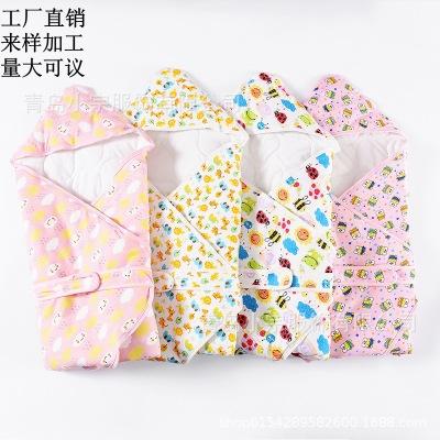 Khăn quấn kiểu Túi giữ ấm cho bé sơ sinh .