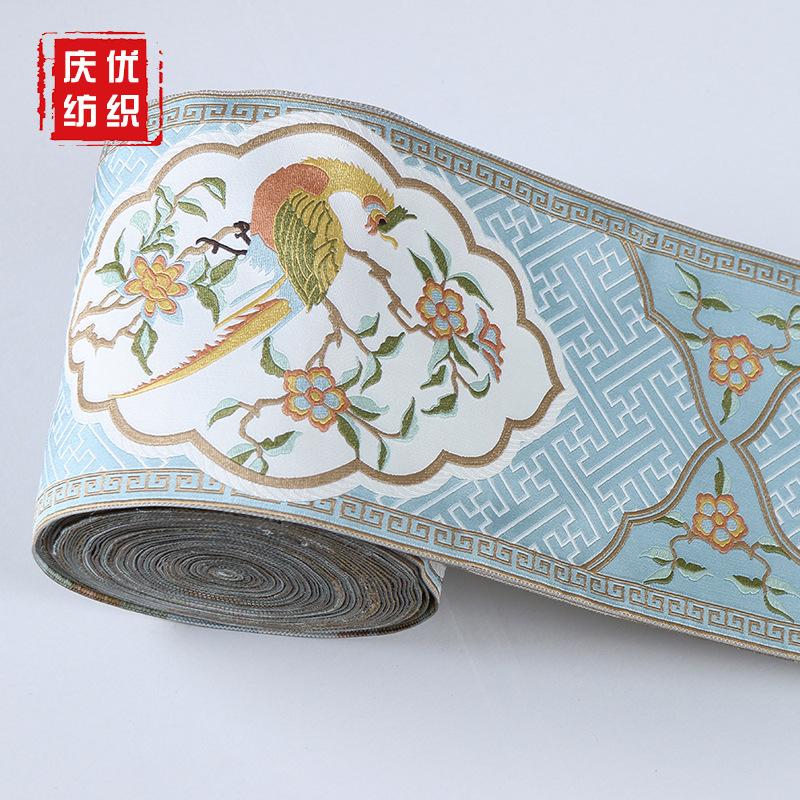 QINGYOU Dây cột rèm Ke Kiều rèm vải nhà sản xuất vải cung cấp DIY quần áo gối rèm phụ kiện ren tại c