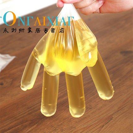 PAMPAS  Túi opp Găng tay dùng một lần Thực phẩm Phục vụ vệ sinh Găng tay trong suốt Găng tay làm sạc