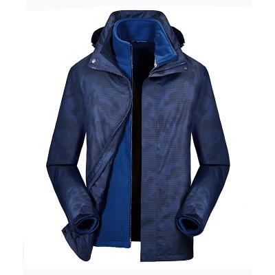 Áo nguỵ trang lính Ngụy trang mùa đông áo khoác ngoài đôi đầy đủ con dấu nhiệt cộng với nhung dày áo