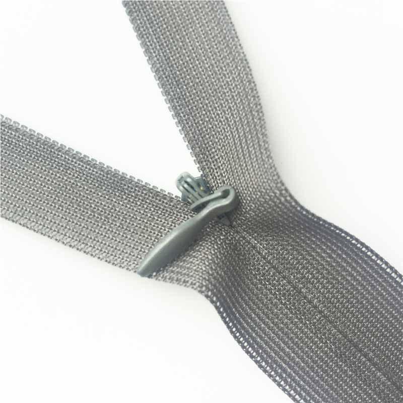 Dây kéo Nylon Quần áo váy có dây kéo dài 150cm80cm màu đen dài 25cm ren ngắn dây kéo vô hình