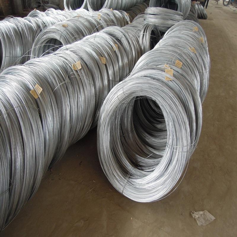 RONGGUI Dây kim loại Dệt lưới hàng rào dây điện nhà máy trực tiếp Orchard nhà kính dây thép mạ kẽm D
