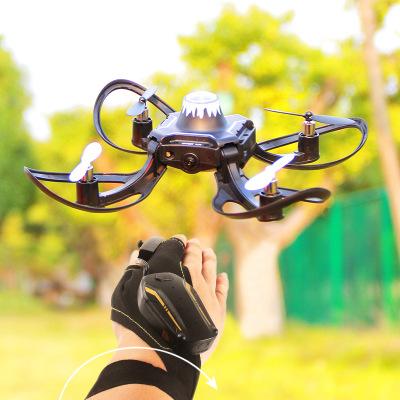 Khuyến khích trẻ em Flycam Đồ chơi rung với cùng một cử chỉ cảm biến máy bay không người lái gấp máy