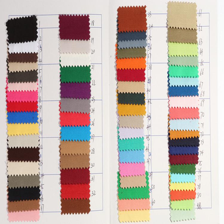 QUANYING V ải Twill Thẻ thun cotton co giãn 20S * 16S + 70D Vải thun Lycra cotton 150 * 60 quần shor