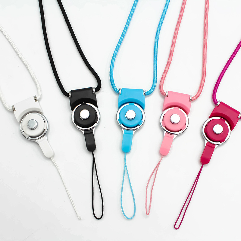 ZHONGXING dây đeo Hai trong một có thể tháo rời vòng xoay khóa dài sling điện thoại di động dây buộc