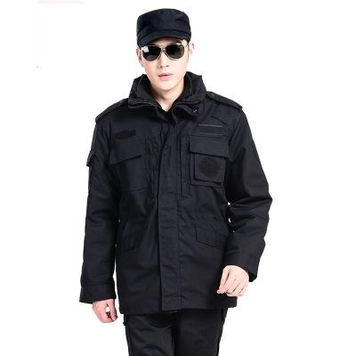 Áo nguỵ trang lính Nhà máy bán buôn áo đào tạo mùa đông áo khoác ngoài trời an ninh mùa đông đồng ph