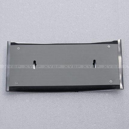 Bảng hiệu kiểu cong bằng nhôm cho nhà vệ sinh .
