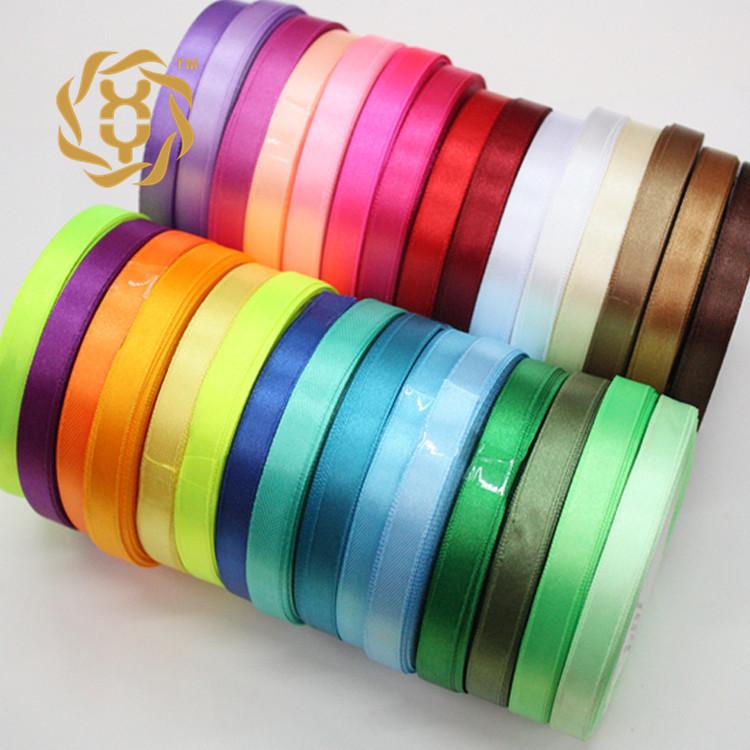 GAOSHENG đai dệt Tại chỗ tất cả các kích cỡ polyester satin ruy băng thông thường ruy băng quà tặng