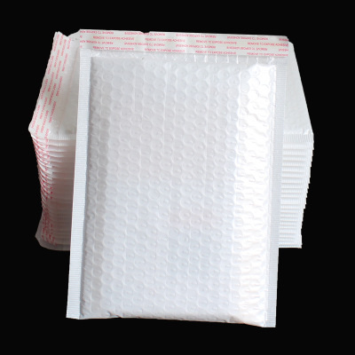 Túi đựng chuyển phát nhanh Túi bong bóng Pearlescent trắng túi bong bóng túi sách tùy chỉnh không th