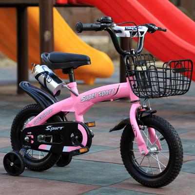 Xe đạp trẻ em bốn bánh size 12/14/16 inch 2-9 tuổi