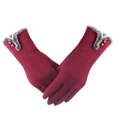 Găng tay giữ ấm cho nữ vào mùa đông .