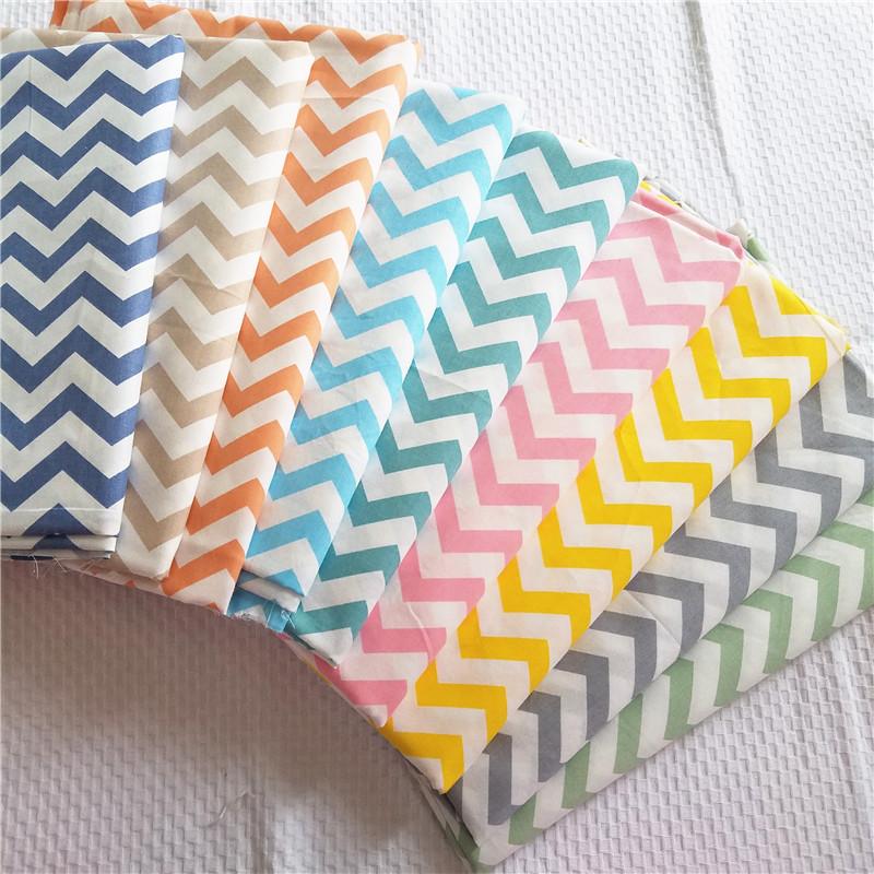 Vải Chiffon & Printing Bông sọc nước họa tiết vải hình học in vải bé bé vải cotton giường bông áo ng