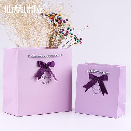Cinderella Túi giấy đựng quà  Cô bé lọ lem màu đơn giản túi quà nhỏ tùy chỉnh túi giấy tote túi kỳ n