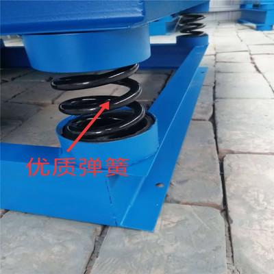 Máy sàng Nhà máy trực tiếp bàn rung bê tông nền tảng rung 0,5, 0,8, 1 m làm rung ba chiều