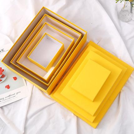 Redis hộp   giấy âm dương Redis 2019 hộp quà tặng mới trời và đất hộp quà tặng đơn giản, hộp kẹo màu
