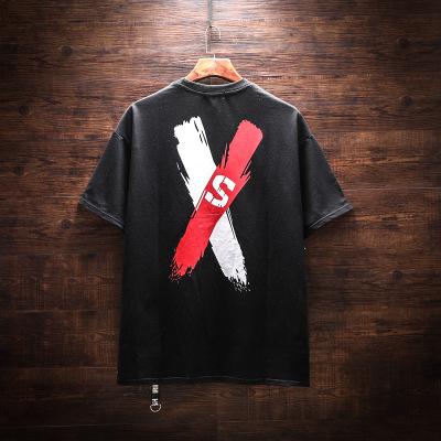 Áo thun mau khô Clearance Original Tide thương hiệu áo thun nam hip hop nam tay ngắn lỏng lẻo Áo thu