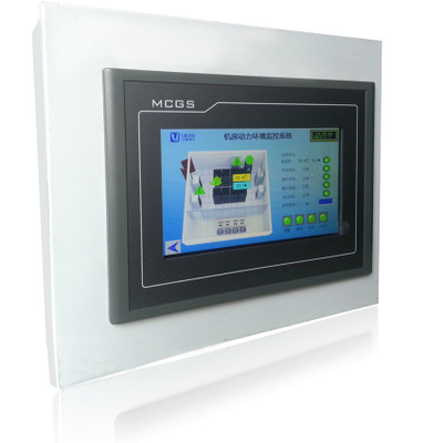 Hệ thống tích hợp Giám sát nhiệt độ và độ ẩm phòng Giám sát màn hình cảm ứng Máy thiết bị giám sát v