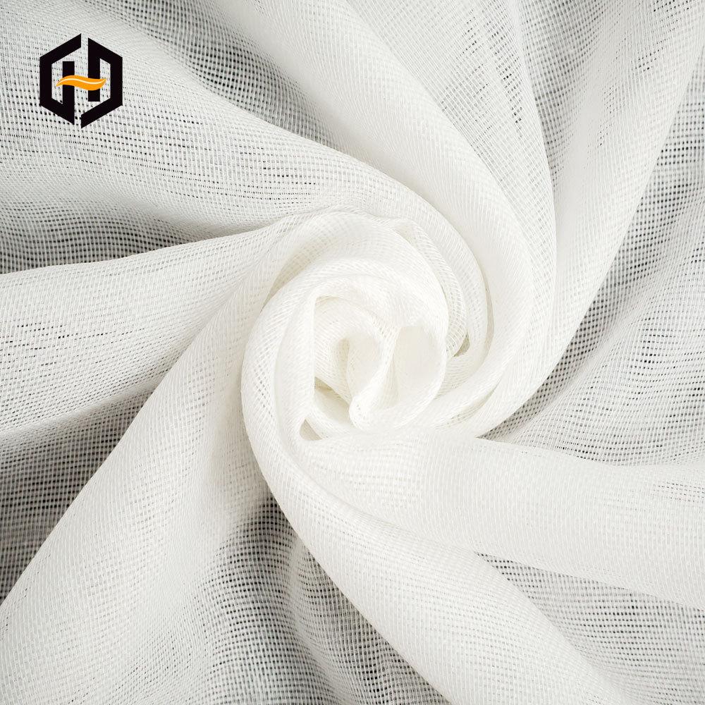CA Vải mộc pha Nhà máy trực tiếp 1,55m gói lớn pha trộn vải nền lưới công nghiệp vải tổng hợp cơ sở