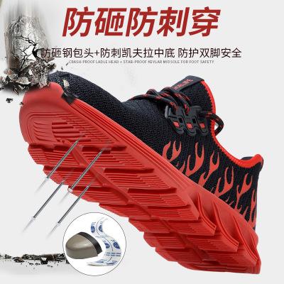 Giày Thời trang thoáng khí chống đập chống trượt .