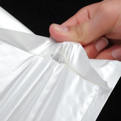Túi đựng chuyển phát nhanh Lichang trắng ngọc trai màng phong bì túi quần áo bong bóng pad thể hiện