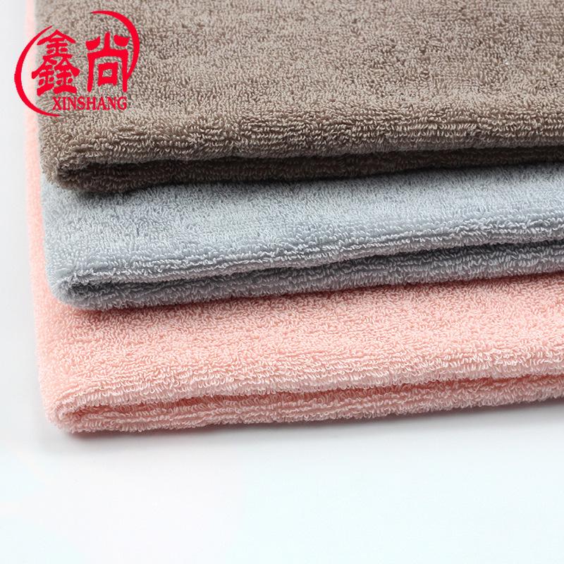 XINSHANG Vải French Terry (Vấy cá) Vải terry 32 sợi Vải dệt hai mặt terry vải bán buôn 350g / m2 khă