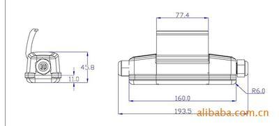 Cầu dao ngắt điện Bảo vệ chống rò rỉ chống nước (cho dụng cụ điện) hoạt động 30mA