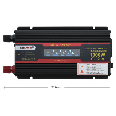 Thiết bị biến áp  Bộ chuyển đổi màn hình LCD biến tần 12 v đến 220v 1000w