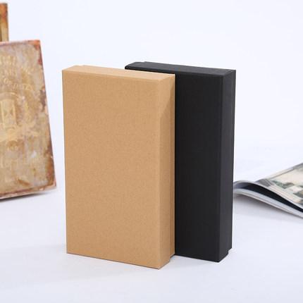 hộp giấy âm dương Hộp giấy kraft hộp quà tặng hình chữ nhật hộp quà trời và trái đất bao gồm hộp car